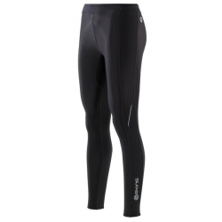 SKINS Bio A200 Womens Black/Black Thermal long tights