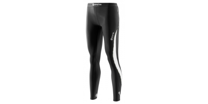 SKINS DNAmic Thermal Womens Compression Long Tights Black/Cloud