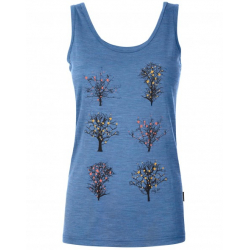 Pally'Hi Tank Top Blooming Tale - Blue Heaven